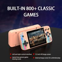 800 HD Portable Game Player 3.5 Inch Color Screen Retro Mini Handheld Console Support Double Players Classic Pocket Video Games Box For Kids Gift G3