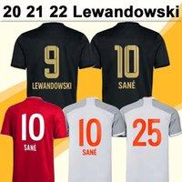 20 21 22 Lewandowski Boateng Herren Fußball Trikots Pavard Martinez Sane Kimmich Hernandez Home Away 3rd Football Shirts Kurze Ärmeln Uniformen
