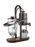 수동 커피 그라인더 로얄 벨기에 냄비 알코올 램프 진공 메이커 유럽 반자동 기계 세트 그라인더