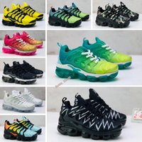 2021 Chaussures Kids Tn Plus Running Infant big boys girls Camo Black White Sports Sneakers Run Designer Shoes tyt
