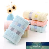 Towel Bamboo Cotton Solid Bath For Adults Fast Drying Soft 33X73CM 3 Colors Thick Beach High Absorbent Antibacterial1 Factory price expert design Quality Latest