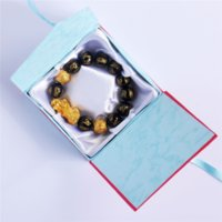 CFR الشريط ضمادة سلسلة بوذا سوار بوذا الخرز سوار صناديق مجوهرات الخرز التعبئة والتغليف عرض مربعات التعبئة والتغليف مجوهرات قابلة للطي