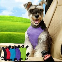 Pet Cat Dog Car Safety Seat Belt Harness Adjustable Vest Dual-use Automobile Of Vehicle Chihuahua Covers