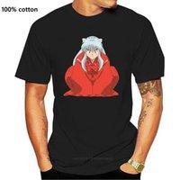 Erkek T-Shirt Bir Yona Inuyasha T Gömlek T-shirt Erkek Kısa Kollu Tee Streetwear Sevimli 6XL Baskı 100 Pamuk Tshirt