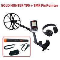 T90 detector de metal de oro subterráneo a prueba de agua PinPointer Tresure Hunter