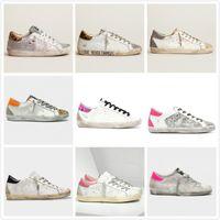 Italien Marke Superstar Turnschuhe Rosa Schuh Klassische weiße do-alte Dirty Designer GAUEN Damen Mann Casual Körbe Schuhe