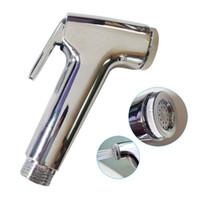 Handheld-Toiletten-Badezimmer-Bidet-Sprayer Duschkopf Water Düse Spray Sprinkler S7 Bad Zubehör Set