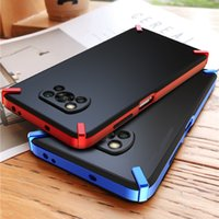Seysion Shockproof Case voor POCO X3 NFC X3 PRO F3 PC Achterkant voor Xiaomi MI 11I 11X PRO 10T Lite Redmi Note 10 4G 9S 9 PRO MAX