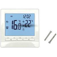 Умный домашний контроль газовый котел отопительный термостат синий регулятор температуры для котлов еженедельно программируемый