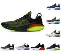 2021 Dernier JoyRide Run FK Men Femmes Chaussures Running Chaussures Triple Black Black Platinum Université Red Racer Bleu Sports Bleu Sneakers Utility EUR 36-45