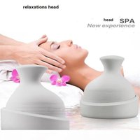 portable waterproof electric head washing spa massage deep scalp massager cleaner hair growth and relax mind hair care clean
