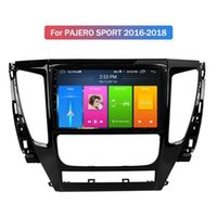 China Factory 9 inch Car DVD Player for mitsubishi PAJERO SPORT 2016-2018 Mirror Link DVR GPS Navigation Android WIFI Bluetooth Handsfree Kit