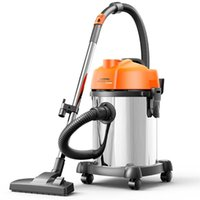 Vacuum Cleaners 18L Strong Suction Cleaner Barrel Type High-Power Factory Workshop Industrial Cleaning Horizontal Automotive