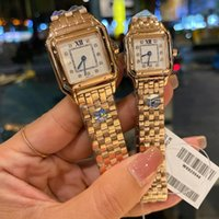 Fine Mens Watch Original Swiss Quartz Movement Watches Set With Diamonds Ladies Wristwatch 100% Second Degree Waterproof Montre de Luxe Top
