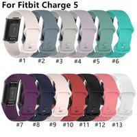 Hoge kwaliteit horlogeband voor Fitbit Charge 5 horlogeband armband sport horlogebandjes siliconen polsbandje voor Fitbit Charge5 accessoires