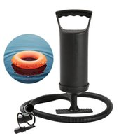 Pool & Accessories Foot-operated Double-head Fast Air Pump, Manual Inflation Tool, Swimming Ring Balloon Yoga Ball Inflatable Bed Hand Pump
