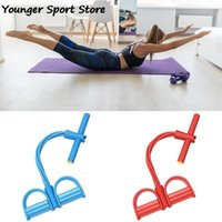 Resistance Bands Elastic Pull Rope Exerciser Rower Belly Band Gym Sport Training Yoga Practice Stretch Crunches Fitness Equipment