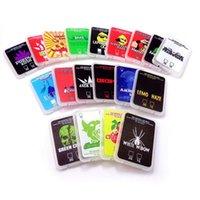 Cas de plastique à imprimer coloré vide Coin concentré de cire Emballage Étuis Case SD Conteneur de carte SD avec blagues Runtz Up Cakemix Gelato Stickers