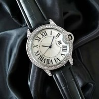 European e americano moda high-end internet celebridade grande marca mesmo azul agulha balão relógio womens diamond-embutido moda relógio fem