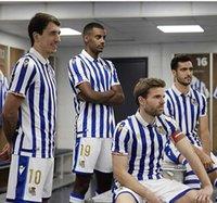 Gerçek Sociedad 19/20 Futbol Jersey Sezon İspanyol Kings Kupası Oyarzabal ISAK Copadelrey Granero Odegaard Juanmi Camiseta de Futbol Futbol Gömlek