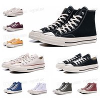 Top Quality converses Classic Canvas 1970 's Leisure Shoe Platform full height Reconstruction Grand Slam jam triple Black and White High Men and Women' s Sport Star shoes 36 - 44