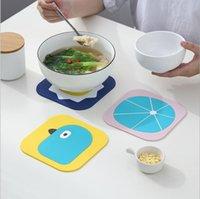 Isı yalıtım ped ev yemek mat, su geçirmez mat coaster, masa anti-haşlanma yumuşak çay coaster kase mat pratik ve güzel 320 s2