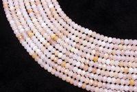 Natuurlijke Harde Facetten Roze Aventurijn Losse Rondelle Kralen Strand 4 door 6mm voor Sieraden DIY Maken Ketting Armband