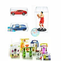 PVC Clear Matchbox Tomy Toy Toy Model Model 1/64 Tomica Hot Cheels пылезащищенные дисплеи защитные коробки 82 * 40 * 30 мм 210326