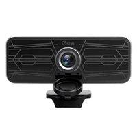 -Gsou 1080p Webcam Built-in Dual Microfoni integrati Plug-and-play per PC USB Full HD Videocamere webCasts Webcasts online Lezioni webcams