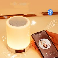 other electronics gift Smart Bluetooth speaker clapping lamp charging card sound bedside music table girls' holiday