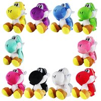 10 색 요시가 동물 봉제 장난감 키즈 선물 17cm