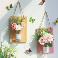 Decorative Flowers & Wreaths Artificial Gypsophila DIY Home Decor Wall Hanging Fake Wedding Living Room Backdrop Decoration Accessories