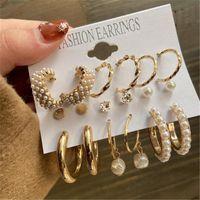 Hoop & Huggie Fashion Jewelry Bohemian Colorful Druzy Pendant Earings For Women Round Resin Stone Charms Quartz Crystal Drop Earring