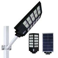 Umlight1688 LED Street Light 300W 400W 500W LED light solar light Radar PIR Motion Sensor Wall Timing Lamp+Remote Waterproof
