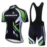 Yeni Yaz Merida Traje Ciclismo Hombre Bisiklet Giysileri Üst Yarış Jersey Bisiklet Ceket Kısa Kollu USO Biciclett X0503