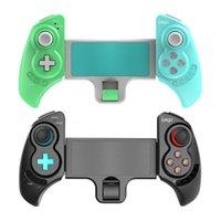 Беспроводной Bluetooth Ручная рукоятка GamePad Держатель Джойстик Растягивающийся контроллер для коммутатора / PS 3 Консоль / Android / PC / Планшетный игровые контроллеры Радость