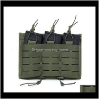 Others Aessories Gearm Triple Cartridge Bag For Outdoor General Tactical Vest Drop Delivery 2021 A0Myi