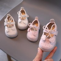 First Walkers Autumn Born Baby Girl Shoes Cute Bow Love Toddler Sneakers Anti-Slip Infant 1-2 Years SXJ002