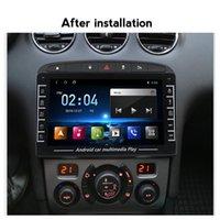 Android Coche DVD Player Navi para 408 308 308SW Radio GPS Navegación WiFi Bluetoot BT CANBUS