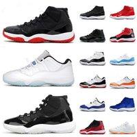 2021 presente com caixa jumpman 11 sapatos de basquete 25th 11s homens mulheres concord high baixo lenda azul espaço cítrico jam gama boné e vestido sneakers treinadores
