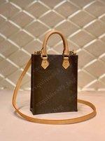 مصمم فاخر رسول حقيبة يد حقيبة الديكور الفاخرة القديمة زهرة crossbody مصغرة حقيبة يد جلدية عالية