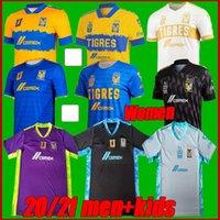Size-4xl 2021 UANL TIGRES 7 نجوم كرة القدم الفانيلة الرجال الاطفال 20 21 جنياك فارغاس camiseta مايوه بيت الابيض تي شيرت كرة القدم المكسيكية الثالثة