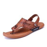 Sandals Sandalen Shoes Slide Romanas Man Transpirables Hollow Zandalias Sandalia Sandale Slapi Masculina For Slides Homme 2021 Para Da