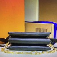 Alta Qualidade M57790 PM Coussin M57783 mm Mulheres Luxo Mulheres Saco De Ombro Designer Crossbody Bags Embreagem De Couro De Couro Travesseiro Bolsa Baguette Baguette