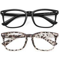 Vengom 투명 컴퓨터 안경 프레임 여성 남성 안티 블루 라이트 라운드 아이웨어 차단 광학 안경 안경