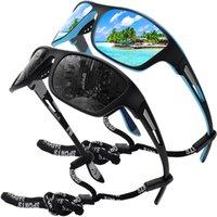 2021 Nowe męskie Moda Okulary TAC Materiał Nowy Spolaryzowany Night Vision Okulary Sporty Spolaryzowane Okulary Okulary Outdoor