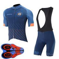 Capo Team Cycling Jersey Summer Sleey Sleeve Shirt / Short de BiB Set Maillot Ciclismo Tenue de vélo Vêtements de vélo à séchage rapide 41513