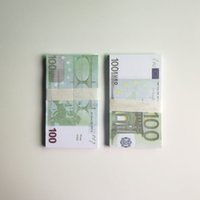 Magic Movie Partys Geld-Prop-Bar-Spiel Requisiten 100pcs / paket 20/20/50/100/200/500 Euro Toys Dekoration HY0002