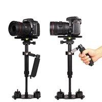 Stabilizer 40cm aluminiumlegering Fotografie video handheld stabilisatoren voor Steadycam Steadicam DSLR camera camcorder S40