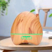 300 ml de grano de madera aroma humidificador de aire de aceite esencial difusor de aceite aromaterapia aceites ultrasónicos Diffusur Humidificadores